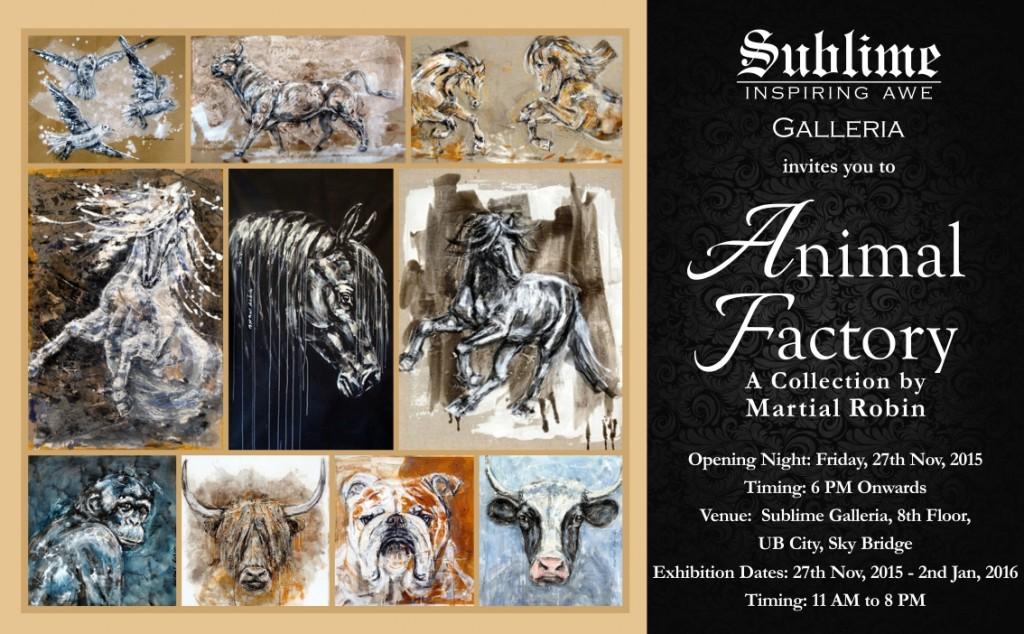 Invite - Animal Factory